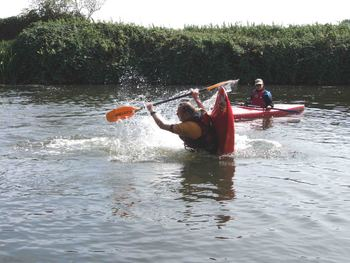 Kemsing kayak weekend