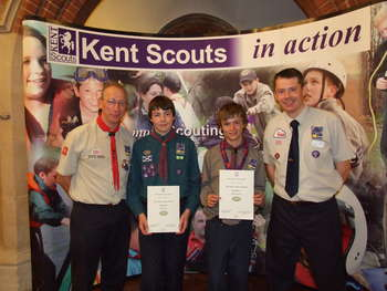 Chief Scout Gold Award Presentations 2007